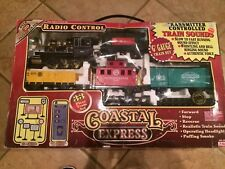 Vtg 33pc. Coastal Express Radio Control Train Set