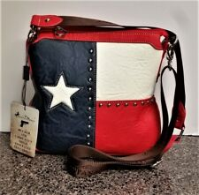 Montana West Concealed Carry Crossbody Bag Texas Pride Oil Field Country Purse