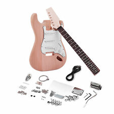 More details for diy st style electirc guitar kit mahogany body maple neck build your own guitar