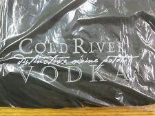 T-Shirt Cold River Vodka The Spirit of  Maine Potato Vodka  XL Black New