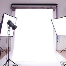 5X7ft Plain White Color Vinyl Studio Backdrop Photography Photo Props Background