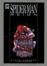 SPIDER-MAN: Reign - Marvel Knights Premiere Edition HC hardcover Graphic Novel