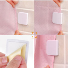 2pcs Anti-Splash Shower Curtain Clips Stop Water Leaking Guard Bath Curtain Clip