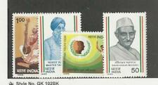 India, Postage Stamp, #1106-1109 Mint Hinged, 1985