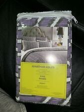 Jonathan Adler New Jaipur ( Purple ) King Shams Pillow Sham set 300 count