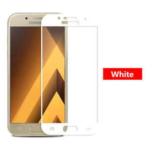 Full Coverage Tempered Glass Screen Protector For Samsung Galaxy A5 2017 A8 2018