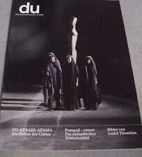 du 496 Griechisches Theater Die Bühne der Götter POMPEJI André Thomkins 6/1982