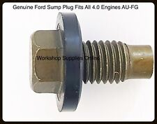 Sump Plug Genuine Ford Falcon AU,BA,BF,FG,XR6 Territory 4.0 6 Cyl Barra Engine