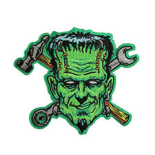 """Spare Parts Frankenstein Monster Iron On Patch Embroidered Appliques 5.5""""X4.7"""""""