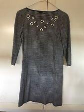 Vestito mini abito tipo tunica donna LIU JO pied de poul taglia XS