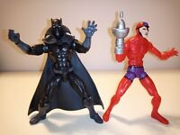 "Marvel Legends Hasbro 6"" Ulysses Klaw & Black Panther action figure lot Avengers"