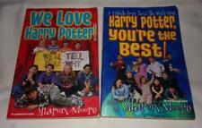 Set of 2 Harry Potter fan books by Sharon Moore