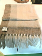 "Donegal Design Wool Scarf Wrap Stole 18"" x 72"" Ireland 100% Pure Wool Irish"