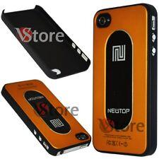 Cover Custodia Metallo Metal Oro Per Apple iPhone 4/4G/4S + Pellicola