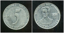 EQUATEUR  5 centavos  2000  ( bis )