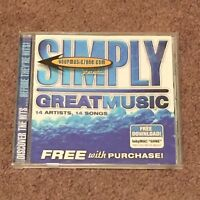 Simply Great Music by Various Artists (CD, Music, Christian, 2004, EMI)