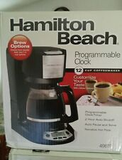 Hamilton Beach 12-Cup Programmable Coffee Maker - No UPC