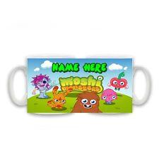 Personalised Any Name Moshi Monsters Mug, Birthday, Christmas Gift, Size 11oz