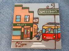 """C Payne Creations Tile Hand Painted """"Westport"""""""