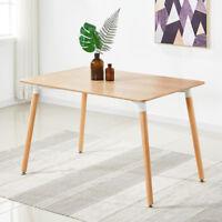 Halo Bois Rustique Dîner Table Design Rétro Da DS Hêtre Bois Pieds Bureau Grand