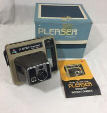 Vintage Kodak Instant Camera Trimprint  w/ Original Box And Booklet