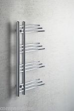 Difta Designer Heated Towel Rail Radiator Chrome 500mm wide 900mm high Bathroom