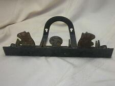 Vintage c1940s Prarie Dog Spring Target Shooting Wall Hanger Metal