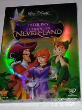 NEW Peter Pan in Return to Never Land (DVD) includes  case  + 📀