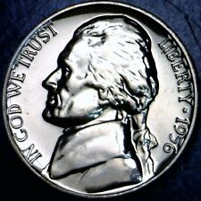 1956 GEM PROOF Jefferson Nickel Coin SUPERB PRF LOT #3 w/   NO RESERVE