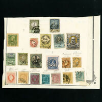 Austria Revenue Stamp Lot With Few Cut Squares
