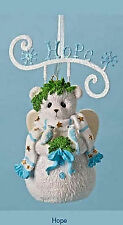 Cherished Teddies*HOPE SNOWBEAR with BIRDS ORNAMENT*New*NIB*CHRISTMAS*4023748