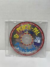 School Zone Pencil-Pal Preschool Software Cd Windows Mac (kids early learning)