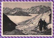 Carte Postale - Mer de Nuages sur la vallée de Bourg d'Oisans