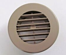 4 Beige Round Rotaire Grille Heat Covered Screws Outlet Vent 3940db Rv Trailer
