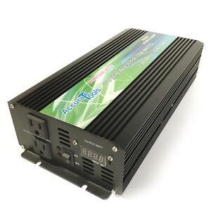 BRAND NEW PURE SINE WAVE POWER INVERTER 1250/2500 WATT 12V DC TO 120V AC!