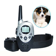1000M Oval Remote Dog Training Collar Rechargeable No Bark Collar For 1 Dog