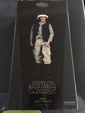 "Star Wars SIDESHOW 12"" REBEL FLEET TROOPER militaries of 1:6 collectibles NIP"