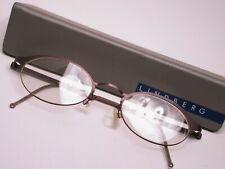 Lindberg Oval Titanium Lightweight Modern Eyeglasses Frames Made in Denmark
