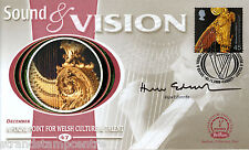 2000 Sound & Vision - Benham Small Silk - Signed by HUW EDWARDS