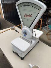 More details for vintage enamel shop scales