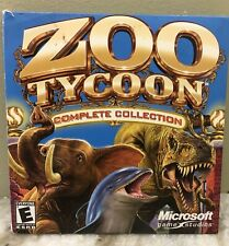 Zoo Tycoon: Complete Collection (PC, 2003) 2 Disc Set