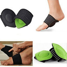 pair Foot Support Strutz Cushioned Arch Helps Decrease Plantar Fasciitis Pain #