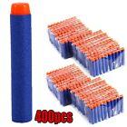 400pcs Bullet Darts For  Kids Toy Gun N-Strike Round Head Blasters #S Blue