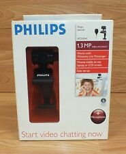 Genuine Philips (SPC230NC) 1.3mp Video & Photo Webcam in Box **READ**