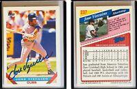 Jose Vizcaino Signed 1993 Topps #237 Card Chicago Cubs Auto Autograph