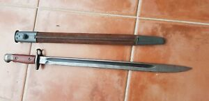 AUSTRALIAN LITHGOW 1907 BAYONET AND SCABBARD