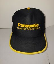 Vintage Panasonic Cordless Power Tools Hat Mesh Trucker Adjustable Snapback Cap