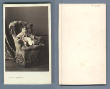 Levitsky, Paris, petit enfant CDV vintage albumen carte de visite  Tirage albu