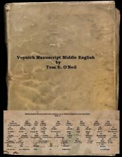 Voynich Manuscript Middle English: Voynich Cipher
