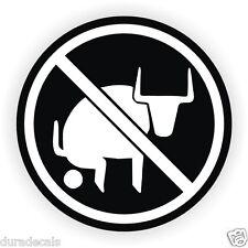 No Bullshit Hard Hat Sticker | Helmet Decal Label Bull Funny Sarcastic Joke
